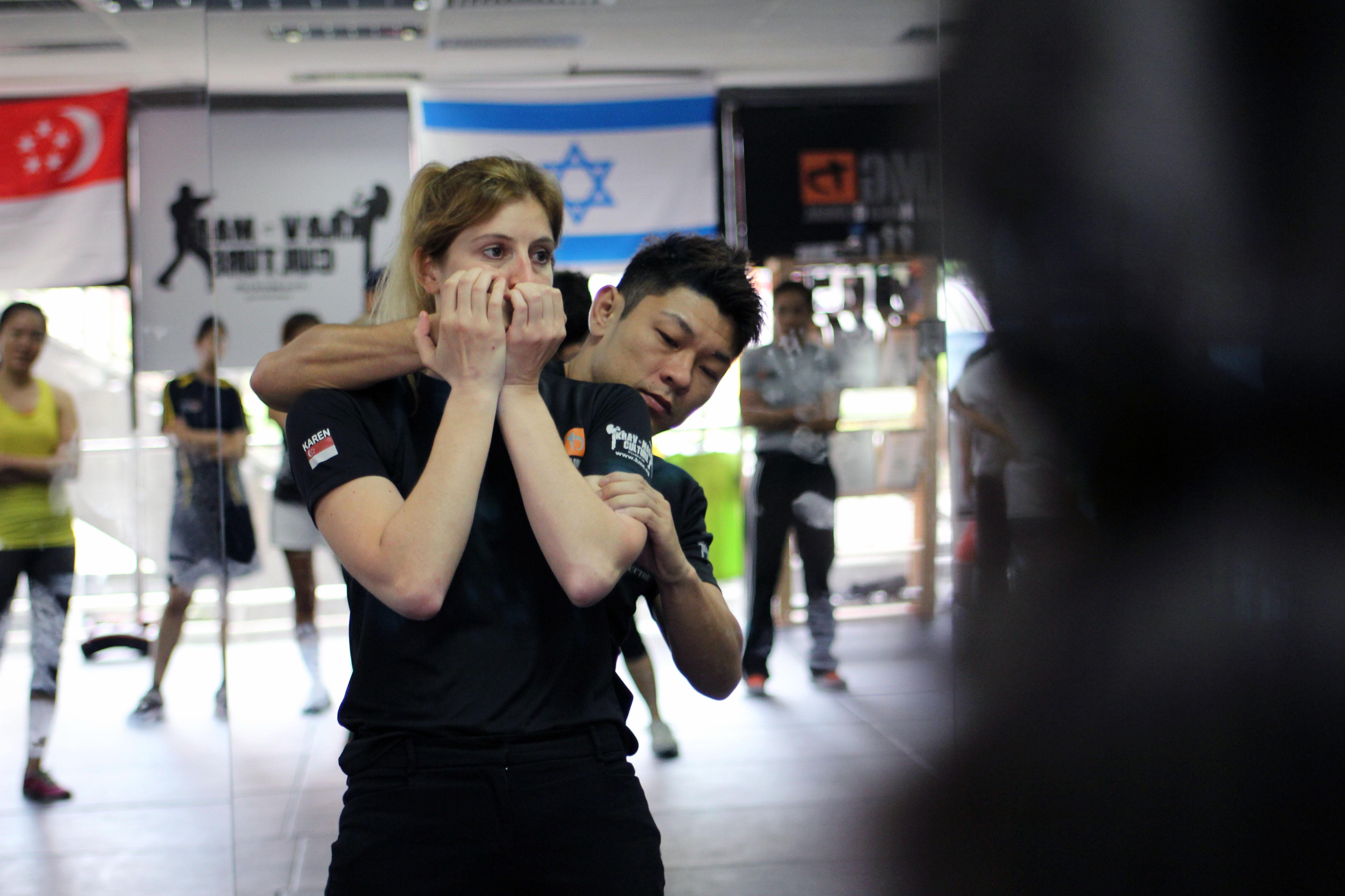 KMG Singapore Women's Self Defense Seminar 2013 with Karen Young